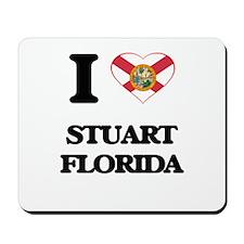 I love Stuart Florida Mousepad