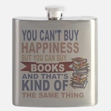 Books Rock Flask