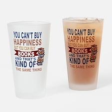 Books Rock Drinking Glass