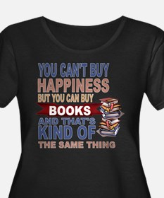 Books Rock Plus Size T-Shirt