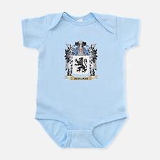 Bergman Coat of Arms - Family Crest Body Suit
