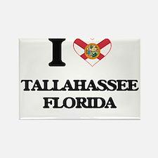 I love Tallahassee Florida Magnets