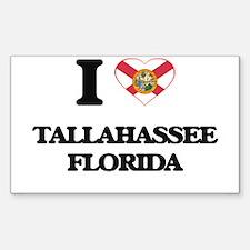 I love Tallahassee Florida Decal