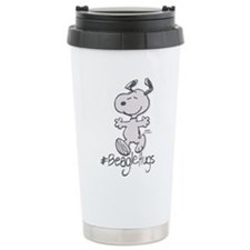 Snoopy Beagle Hugs Travel Mug
