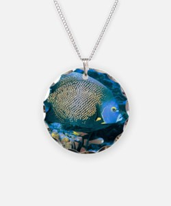 Pomacanthus Fish Necklace