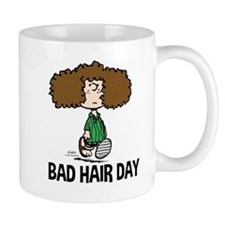 Peppermint Patty Bad Hair Day Mugs