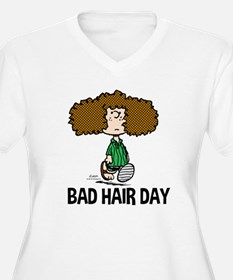 Peppermint Patty Bad Hair Day Plus Size T-Shirt