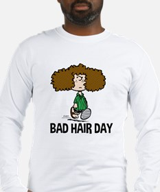 Peppermint Patty Bad Hair Day Long Sleeve T-Shirt