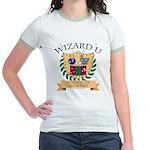 Wizard U Alchemy RPG Gamer HP Yellow Ringer Tee