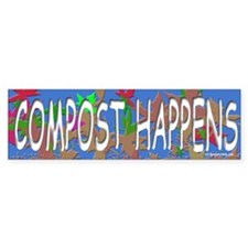 Composting Bumper Bumper Sticker