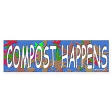 Composting Bumper Bumper Stickers