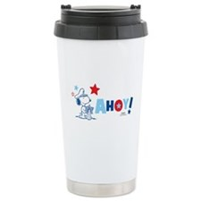 Snoopy AHOY Travel Mug