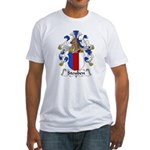 Steuben Family Crest Fitted T-Shirt