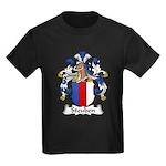 Steuben Family Crest Kids Dark T-Shirt