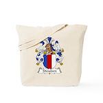 Steuben Family Crest Tote Bag