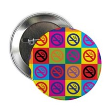 Pop Art No Smoking Button