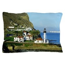 Point Loma Lighthouse Pillow Case