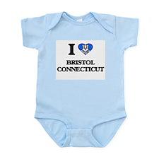I love Bristol Connecticut Body Suit