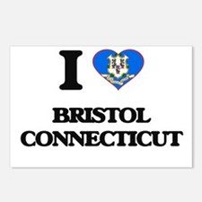 I love Bristol Connecticu Postcards (Package of 8)