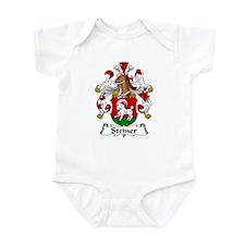 Steiner Family Crest Infant Bodysuit