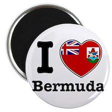 "I love Bermuda 2.25"" Magnet (10 pack)"