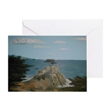 Lone Cypress Greeting Cards
