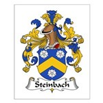 Steinbach Family Crest  Small Poster