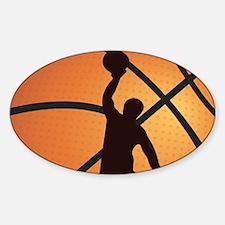 Basketball dunk Decal