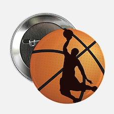 """Basketball dunk 2.25"""" Button"""