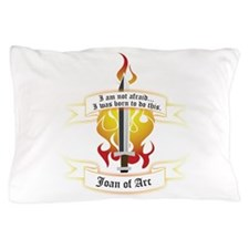 Joan of Arc - I was born to do this. Pillow Case