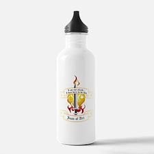 Joan of Arc - I was bo Water Bottle