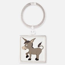 Cartoon Donkey Keychains