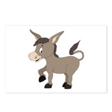 Cartoon Donkey Postcards (Package of 8)