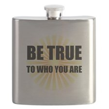 Be True To Who You Are Flask