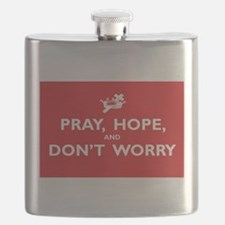 Pray, Hope, and Dont Worry Flask