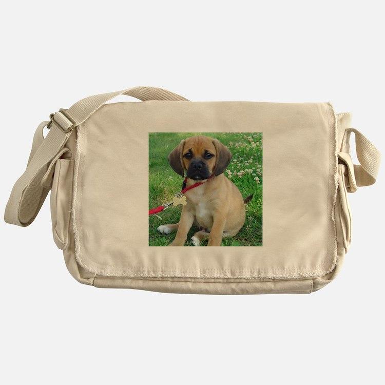 Puggle Messenger Bag