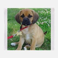 Puggle Throw Blanket