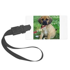 Puggle Luggage Tag