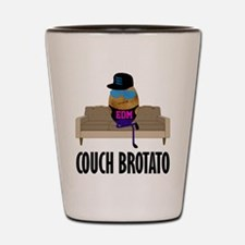 Couch Brotato Shot Glass