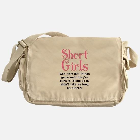 SHORT GIRLS Messenger Bag
