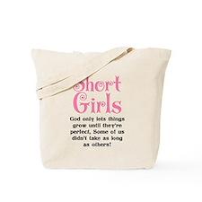 SHORT GIRLS Tote Bag