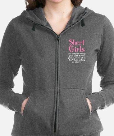 SHORT GIRLS Women's Zip Hoodie