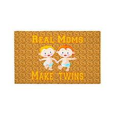 Real Moms Make Twins Area Rug