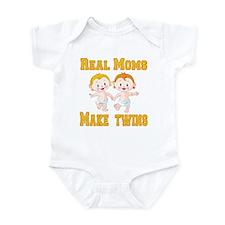 Real Moms Make Twins Infant Bodysuit