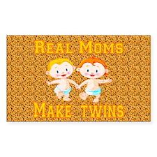 Real Moms Make Twins Decal