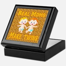 Real Moms Make Twins Keepsake Box
