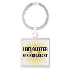 Glitter For Breakfast Keychains