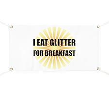 Glitter For Breakfast Banner