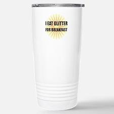 Glitter For Breakfast Travel Mug
