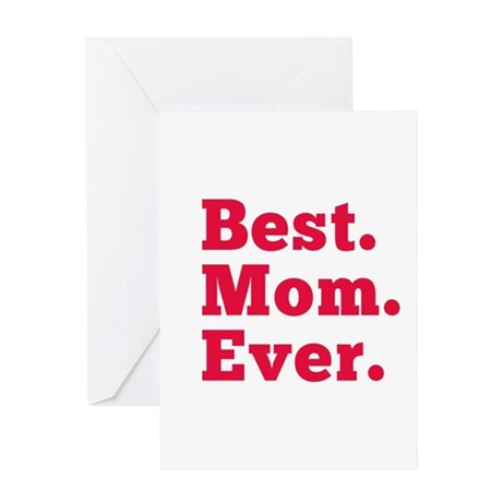 Best mom ever greeting cards by saywhat88 for Best holiday cards ever